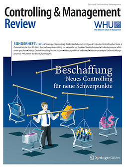 Schäffer, Utz - Controlling & Management Review Sonderheft 2-2016, e-bok