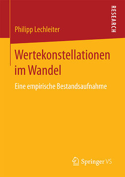 Lechleiter, Philipp - Wertekonstellationen im Wandel, ebook