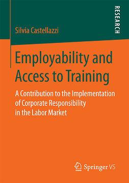 Castellazzi, Silvia - Employability and Access to Training, ebook