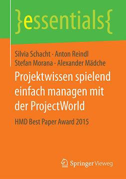 Morana, Stefan - Projektwissen spielend einfach managen mit der ProjectWorld, ebook