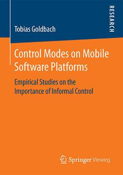 Goldbach, Tobias - Control Modes on Mobile Software Platforms, ebook