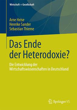 Heise, Arne - Das Ende der Heterodoxie?, ebook