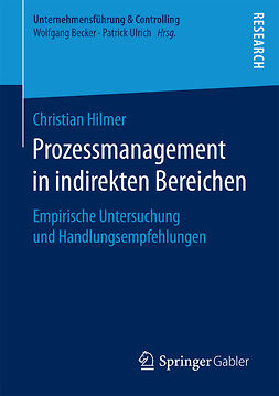 Hilmer, Christian - Prozessmanagement in indirekten Bereichen, ebook