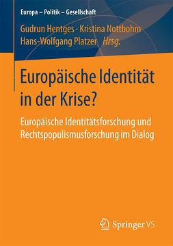 Hentges, Gudrun - Europäische Identität in der Krise?, e-kirja