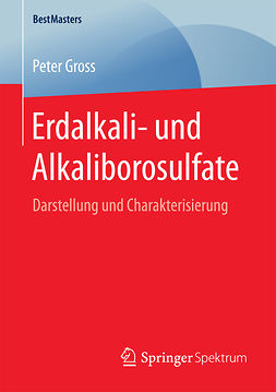 Gross, Peter - Erdalkali- und Alkaliborosulfate, ebook