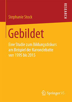 Stock, Stephanie - Gebildet, ebook