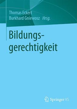 Eckert, Thomas - Bildungsgerechtigkeit, ebook