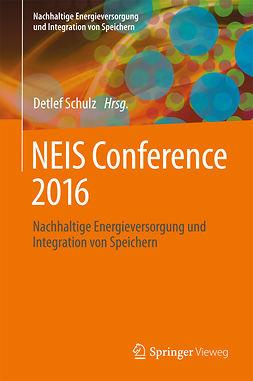 Schulz, Detlef - NEIS Conference 2016, ebook