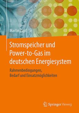 Zapf, Martin - Stromspeicher und Power-to-Gas im deutschen Energiesystem, ebook