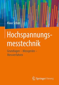 Schon, Klaus - Hochspannungsmesstechnik, e-bok