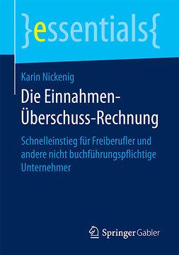 Nickenig, Karin - Die Einnahmen-Überschuss-Rechnung, ebook