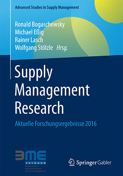 Bogaschewsky, Ronald - Supply Management Research, ebook