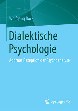 Bock, Wolfgang - Dialektische Psychologie, e-bok