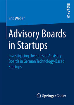 Weber, Eric - Advisory Boards in Startups, ebook
