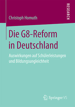 Homuth, Christoph - Die G8-Reform in Deutschland, ebook