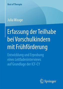 Waage, Julia - Erfassung der Teilhabe bei Vorschulkindern mit Frühförderung, ebook