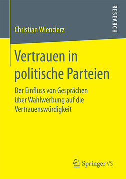 Wiencierz, Christian - Vertrauen in politische Parteien, ebook