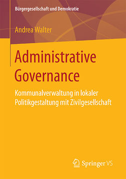 Walter, Andrea - Administrative Governance, ebook