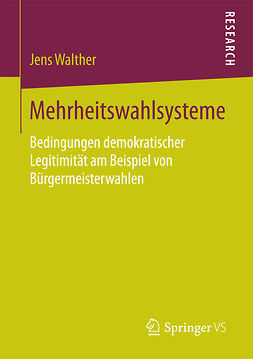 Walther, Jens - Mehrheitswahlsysteme, ebook