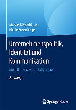 Niederhäuser, Markus - Unternehmenspolitik, Identität und Kommunikation, ebook