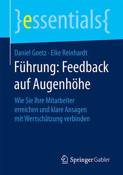 Goetz, Daniel - Führung: Feedback auf Augenhöhe, ebook