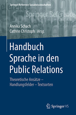 Christoph, Cathrin - Handbuch Sprache in den Public Relations, ebook
