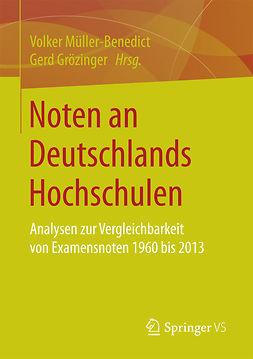 Grözinger, Gerd - Noten an Deutschlands Hochschulen, ebook