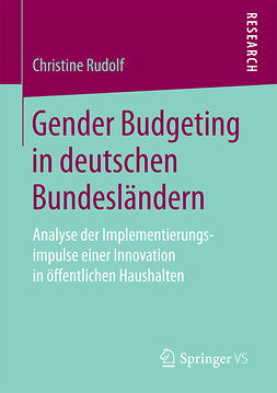 Rudolf, Christine - Gender Budgeting in deutschen Bundesländern, ebook
