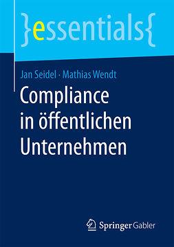 Seidel, Jan - Compliance in öffentlichen Unternehmen, ebook