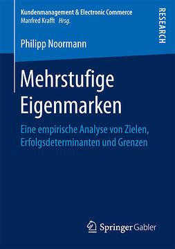 Noormann, Philipp - Mehrstufige Eigenmarken, ebook