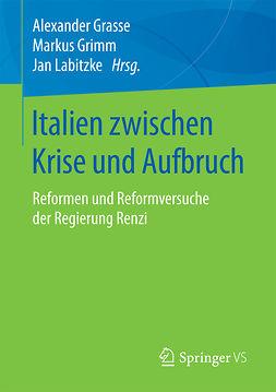Grasse, Alexander - Italien zwischen Krise und Aufbruch, ebook