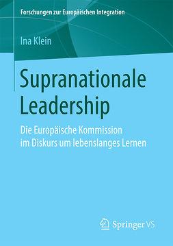Klein, Ina - Supranationale Leadership, ebook