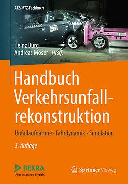 Burg, Heinz - Handbuch Verkehrsunfallrekonstruktion, ebook