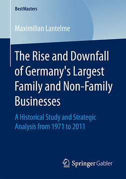 Lantelme, Maximilian - The Rise and Downfall of Germany's Largest Family and Non-Family Businesses, ebook