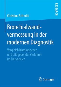 Schmitt, Christine - Bronchialwandvermessung in der modernen Diagnostik, ebook