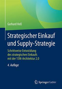 Heß, Gerhard - Strategischer Einkauf und Supply-Strategie, e-kirja