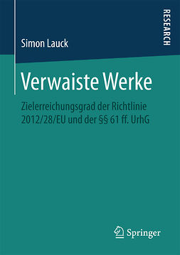 Lauck, Simon - Verwaiste Werke, ebook