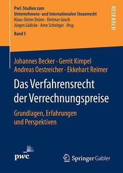 Becker, Johannes - Das Verfahrensrecht der Verrechnungspreise, e-bok