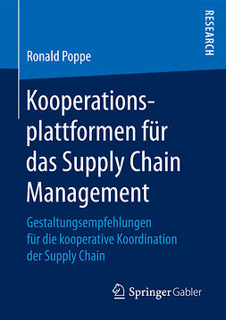 Poppe, Ronald - Kooperationsplattformen für das Supply Chain Management, e-kirja
