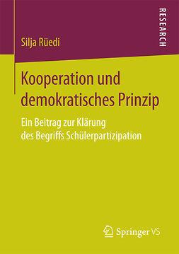 Rüedi, Silja - Kooperation und demokratisches Prinzip, ebook