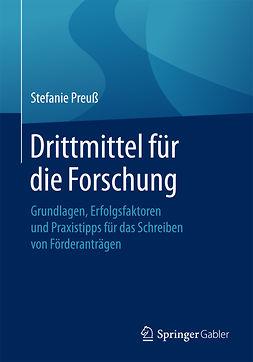Preuß, Stefanie - Drittmittel für die Forschung, e-bok