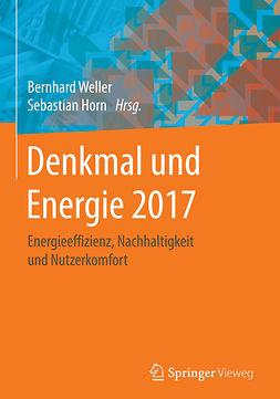 Horn, Sebastian - Denkmal und Energie 2017, ebook