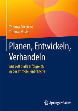 Fritzsche, Thomas - Planen, Entwickeln, Verhandeln, e-kirja