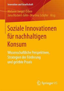 Jaeger-Erben, Melanie - Soziale Innovationen für nachhaltigen Konsum, e-bok