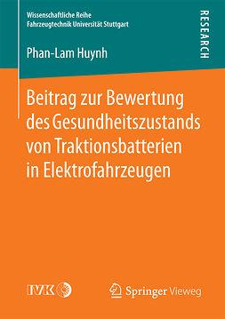 Huynh, Phan-Lam - Beitrag zur Bewertung des Gesundheitszustands von Traktionsbatterien in Elektrofahrzeugen, ebook