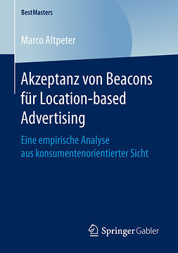 Altpeter, Marco - Akzeptanz von Beacons für Location-based Advertising, e-bok