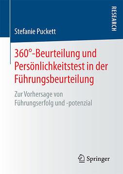Puckett, Stefanie - 360°-Beurteilung und Persönlichkeitstest in der Führungsbeurteilung, ebook