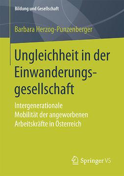 Herzog-Punzenberger, Barbara - Ungleichheit in der Einwanderungsgesellschaft, ebook