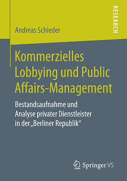 Schieder, Andreas - Kommerzielles Lobbying und Public Affairs-Management, ebook