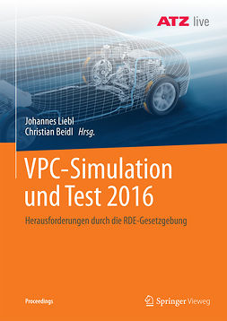 Beidl, Christian - VPC – Simulation und Test 2016, ebook